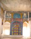 Sarāy  Sector, decorated & painted  walls